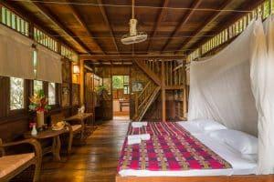 Our Jungle Camp Khao Sok Tree House inside