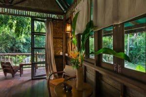 Our Jungle Camp Khao Sok bungalow inside