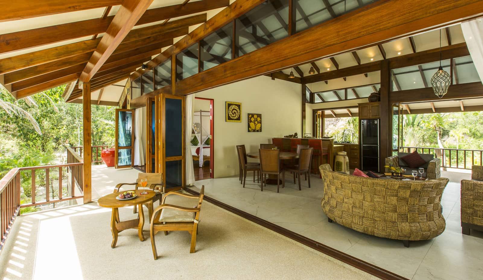 Séjour en famille à Koh Jum salon