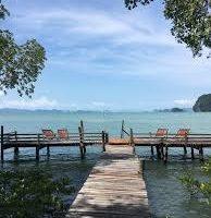 banana resort thalane view sea