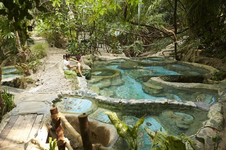 Tour privé terrestre à Krabi piscine eau chaude