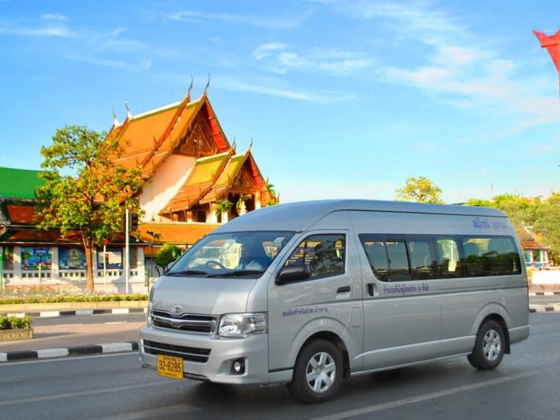 Location de véhicule avec chauffeur à Krabi