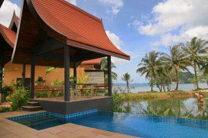 Thalane Bay Villa bua outside view 03