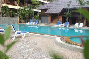 Klong Mueang Bay View pool view