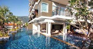 Andakiri villa pool view